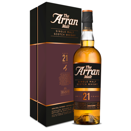 Arran 21 Year Old Whisky