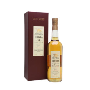 BRORA 1982 34 YEAR OLD WHISKY 2017