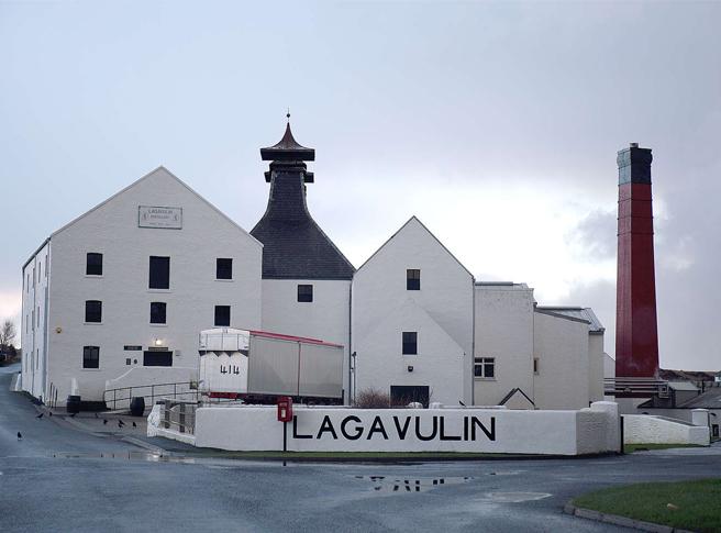 Nick Offerman's Lagavulin Scotch Whisky
