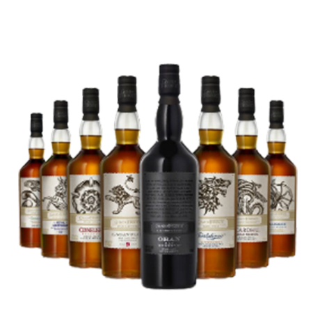 Game of Thrones Full Collection of Whisky