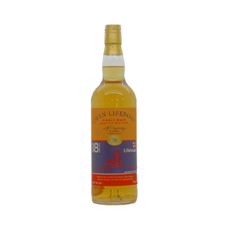 Oban 18 Year Old Single Cask Lifeboat Edition