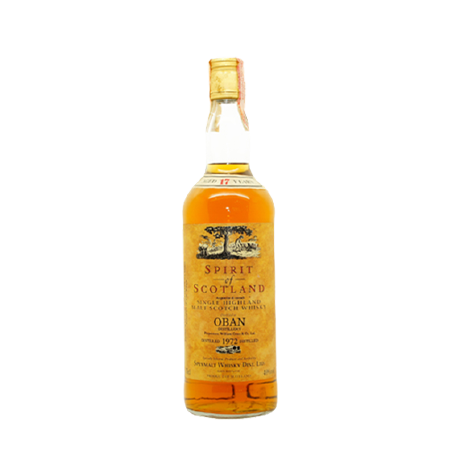 Oban 1972 'Spirit of Scotland' Whisky