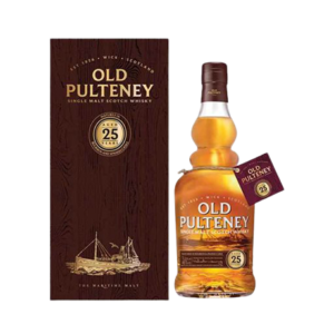 OLD PULTENEY 25 YEAR OLD WHISKY