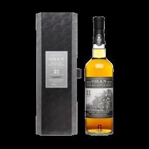 Oban 21yo Cask Strength Whisky