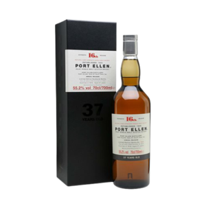 PORT ELLEN 16TH RELEASE 37 YEAR OLD WHISKY