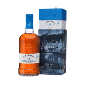TOBERMORY 12 YEAR OLD PORT PIPE SCOTCH