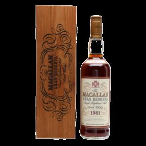 Macallan Gran Reserva 1981